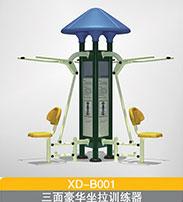 BXD-B001  三面豪华坐拉训练器
