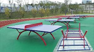 BXD-H004  SMC圆管乒乓球台